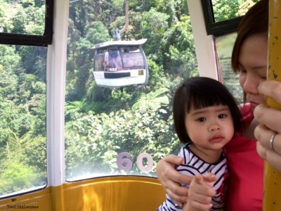 taking kids on cable car rides