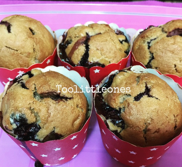 blueberry yogurt muffins recipe