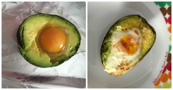 avocado baked egg recipe