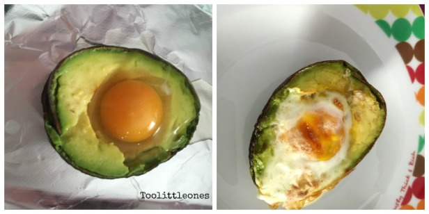 baked avocado with egg recipe