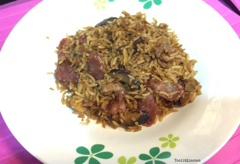 rice cooker mushroom rice