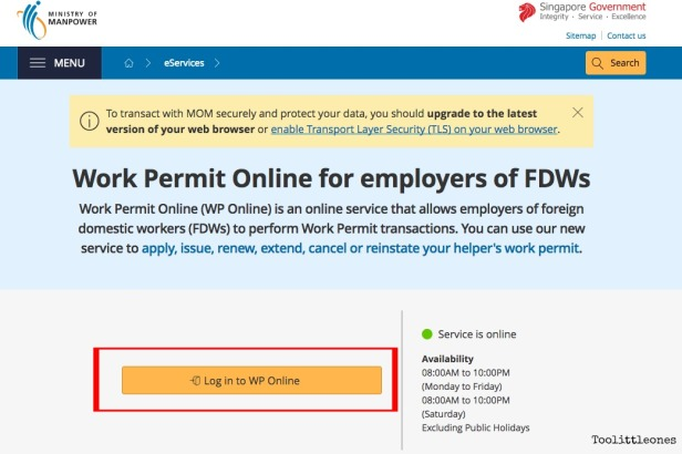 Check a FDW's Employment History